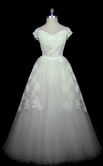 vintage dior wedding dress - The Sassy Stylista
