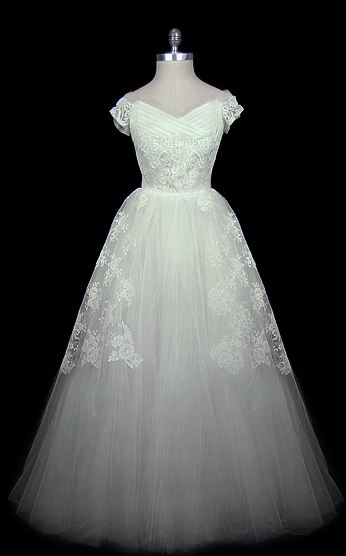 Christian Dior Vintage Wedding Gown