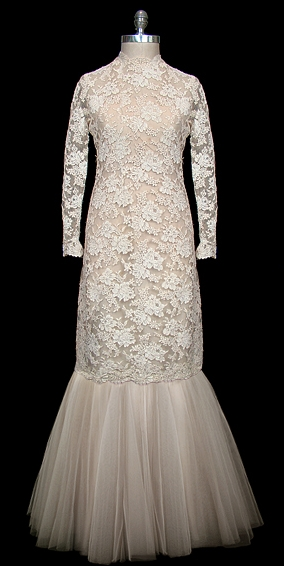 dior vintage wedding dress