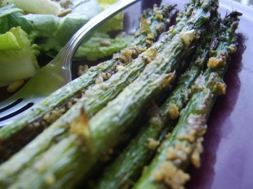 asparagus with parmasean recipe