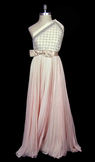 Pierre Balmain vintage wedding dress