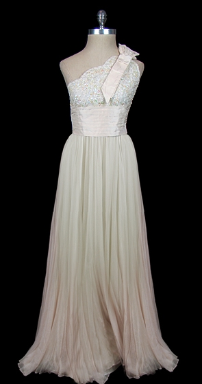 vintage valentino wedding gown